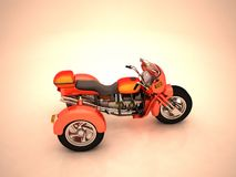 Prototipo del triciclo Foto de archivo libre de regalías
