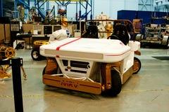 Prototipo di MRV Marte Rover Vehicle Fotografia Stock Libera da Diritti