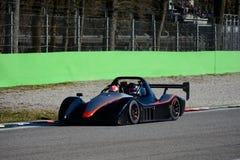 Prototipo en el circuito de Monza Fotografía de archivo libre de regalías