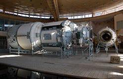 Prototipo ruso del segmento del ISS Fotografía de archivo