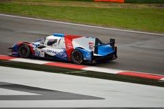 Prototyp för européLe Mans serie LMP2 på Imola 2015 Arkivbilder