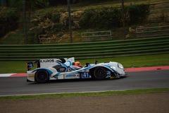 Prototyp för européLe Mans serie LMP2 på Imola 2015 Royaltyfri Bild