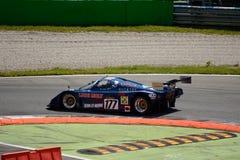 Prototyp för 1989 för gruppC2 för ALD C289 sportar på Monza Arkivbild