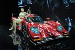 Prototyp Mazdas SKYACTIV-D Stockbilder