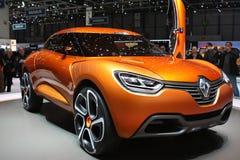 Prototyp Renault-Captur Stockbilder