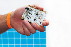 Prototype électronique pour des jeux vidéo et des ordinateurs Image libre de droits