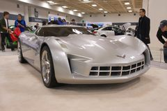 A prototype of Chevrolet Corvette Stock Photography