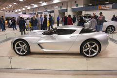 A prototype of Chevrolet Corvette Royalty Free Stock Image