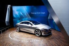 Prototype de coupé de type de concept de Mercedes Photos libres de droits