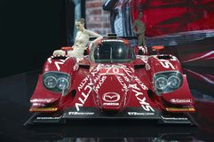 Prototype de Mazda SKYACTIV-D Photo stock