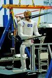 Prototype de Robonaut Images libres de droits