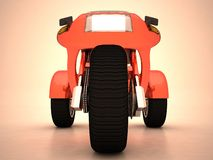 Prototype de tricycle images libres de droits