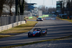 Prototype at the Monza circuit Stock Image
