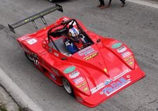 Prototype Polini-05 Kawasaki racing car Royalty Free Stock Images