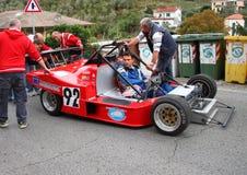 Prototype Polini-05 Kawasaki racing car Royalty Free Stock Photos