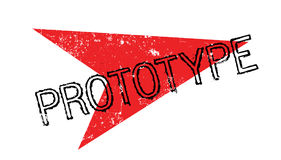 Prototype rubber stamp Royalty Free Stock Image