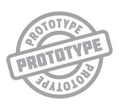 Prototype rubber stamp Stock Photos