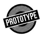 Prototype rubber stamp Stock Photo