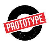 Prototype rubber stamp Royalty Free Stock Photos