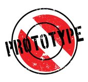 Prototype rubber stamp. Grunge design with dust scratches. Effects can be easily removed for a clean, crisp look. Color is easily changed Royalty Free Stock Images