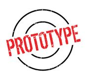 Prototype rubber stamp. Grunge design with dust scratches. Effects can be easily removed for a clean, crisp look. Color is easily changed Royalty Free Stock Photos