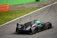 Prototyptest Ligier LMP2 in Monza Lizenzfreie Stockfotografie