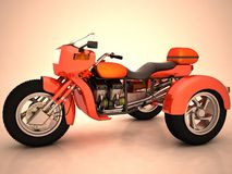 prototyptrehjuling Arkivfoton