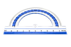 Protractor Royalty Free Stock Photography