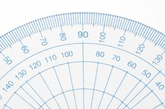 Protractor. Stock Images