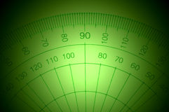 Protractor. Royalty Free Stock Images