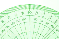Protractor. Royalty Free Stock Photos