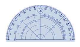 Protractor Royalty Free Stock Images