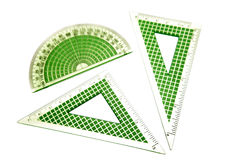 Protractors Royalty Free Stock Image