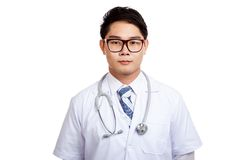 Protrait of Asian male doctor Stock Image