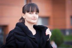 Protrait der beautifful jungen Frau Lizenzfreie Stockfotos