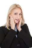 Protrait of surprised businesswomen Royalty Free Stock Photography