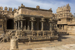Protruding part of Mandapam. Stock Photography
