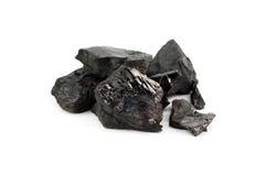 Protuberância de carvão foto de stock