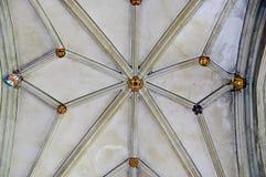 Protuberancia en el techo de la cámara acorazada foto de archivo