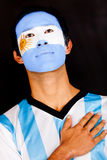 Proud Argentinean man Royalty Free Stock Photos