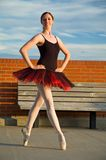 Proud Ballerina Royalty Free Stock Image