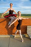 Proud Ballerinas Royalty Free Stock Photo