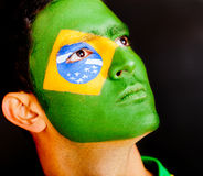 Proud Brazilian male Royalty Free Stock Photos