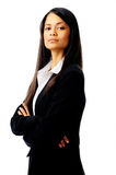 Proud business woman Royalty Free Stock Photo