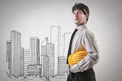 Proud businessman Royalty Free Stock Photography