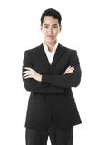 The proud businessman Stock Photography