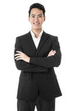 The Proud Businessman Stock Images