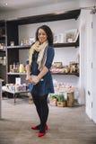 Proud Businesswoman Portrait Stock Photography