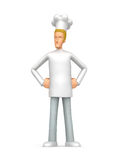 Proud chef Royalty Free Stock Photos