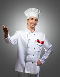 Proud chef Royalty Free Stock Images